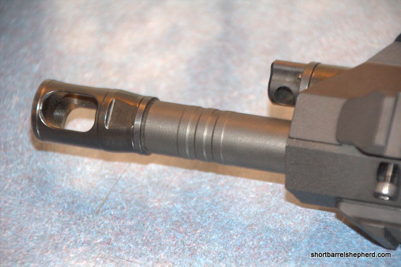 .300 Blackout uppers will have barrels with three rings near the muzzle.