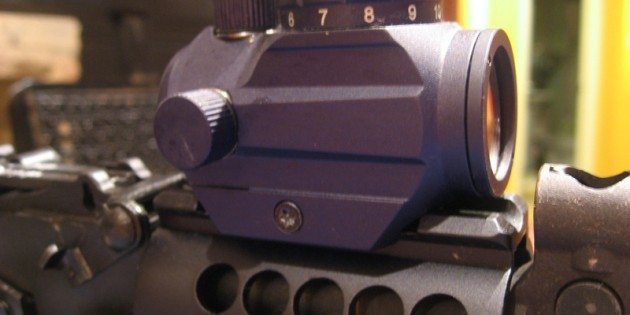 Using the Primary Arms MD 06 Red Dot Sight on an SBR