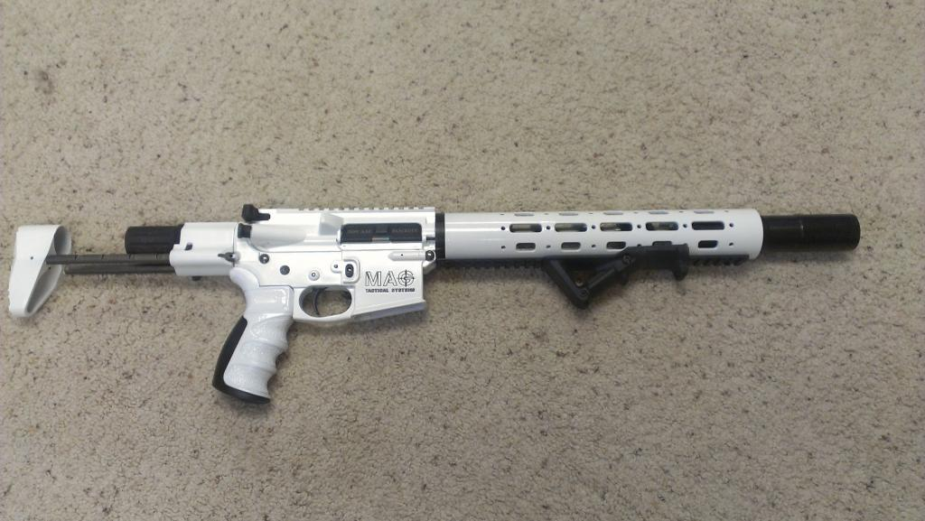 9mm storm trooper rifle build completed - AR15.COM