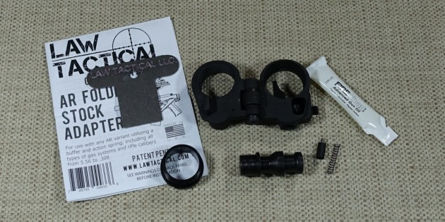 Law Tactical Generation 3 AR15 Folding Stock Adapter First Impressions Review