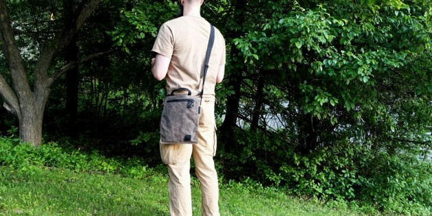 BLACKHAWK! Diversion Waxed Canvas Satchel First Impressions Review