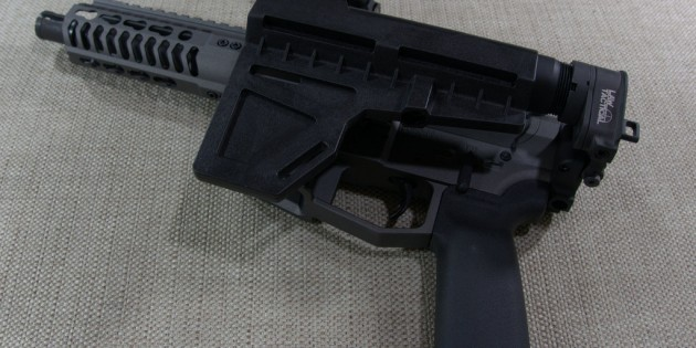 Installing the Law Tactical Gen 3-M Folding Adapter on an Angstadt Arms UDP-9 AR15