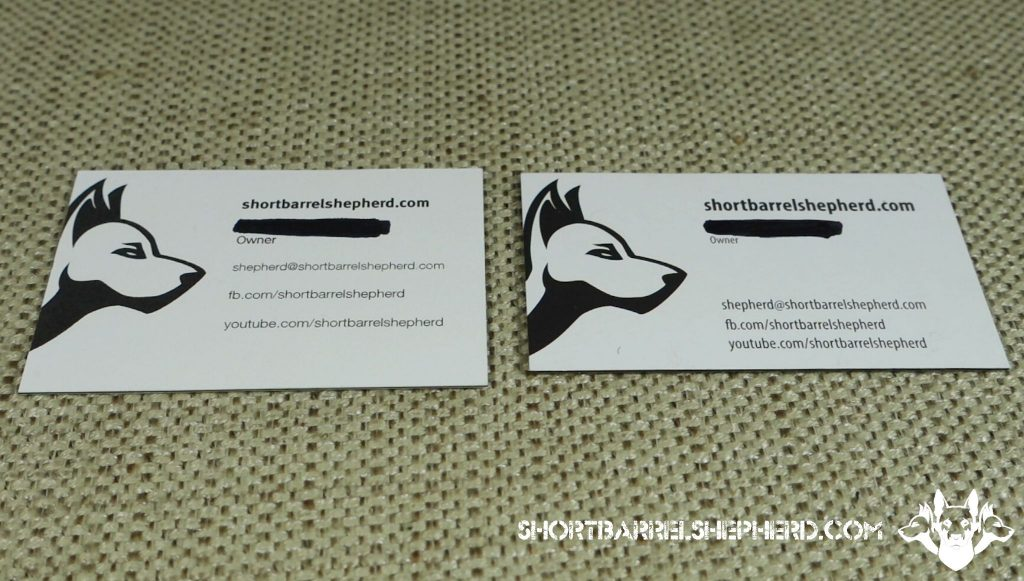 Moo Luxe vs GotPrint Trifecta Business Card Comparison Review ...