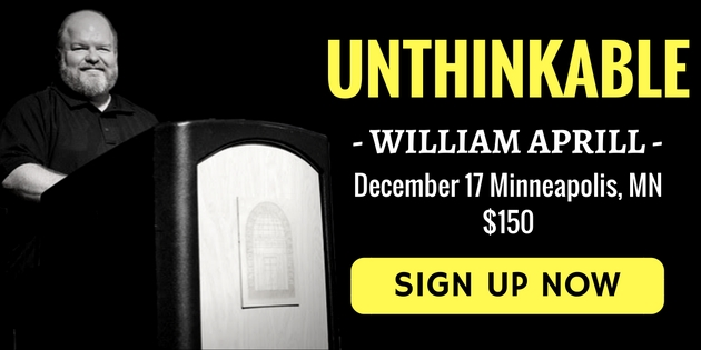 Unthinkable with William Aprill December 17, Minneapolis MN