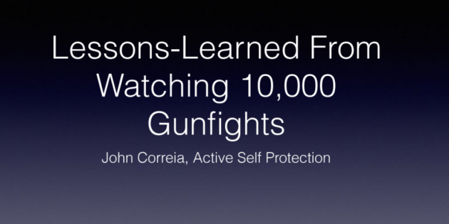 Reprioritizing Essential Self Defense Training Based on John Correia's Active Self Protection Violent Encounter Data