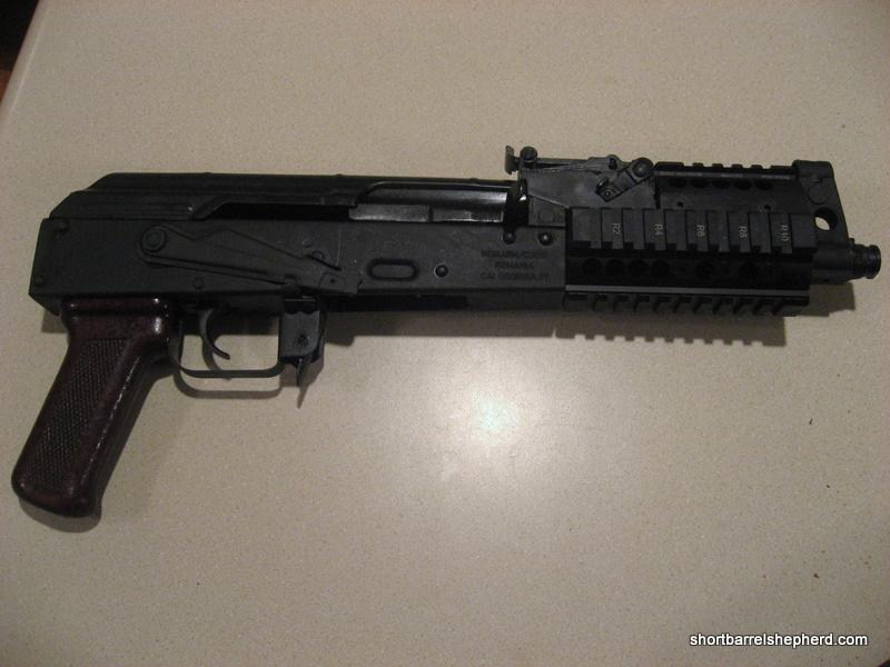 Mini Draco AK47 SBR Review : Short Barrel Shepherd