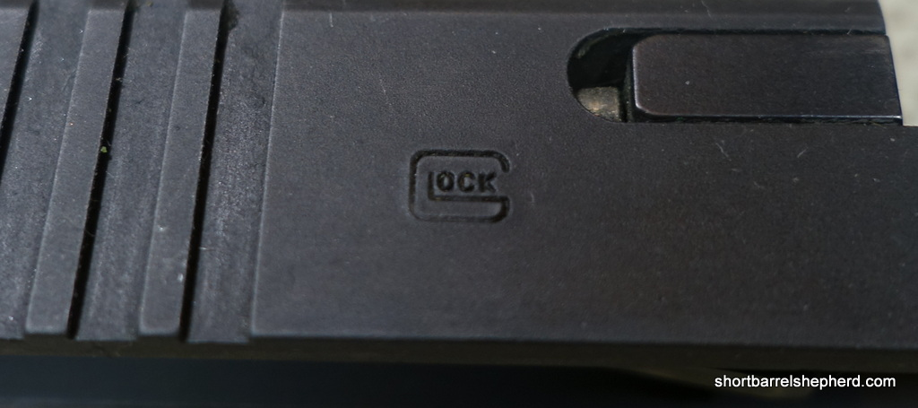 Even the Glock trademark has worn down.