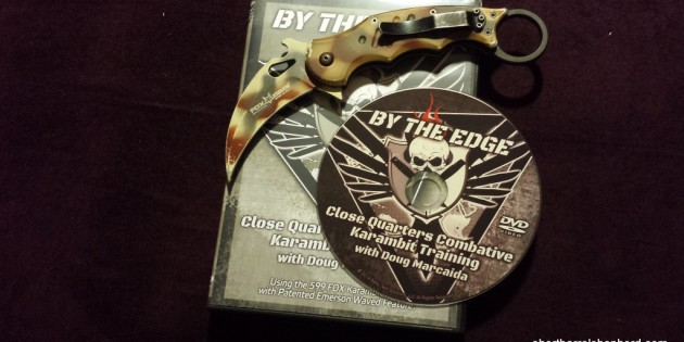 By the edge 599 Fox karambit training DVD review