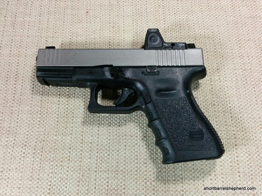 Suarez International TSD Glock 19 RMR Ready Slide Initial