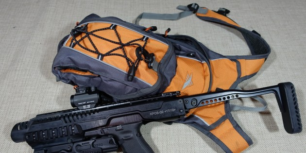 High Sierra Soak 2.0 Hydration Pack for Glock SBR Review