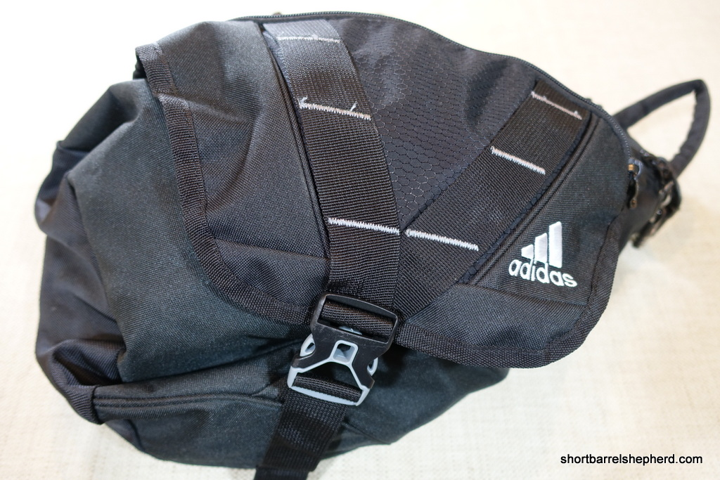 0f88cac5d1 adidas Rydell Sling Bag For EDC Review   Short Barrel Shepherd