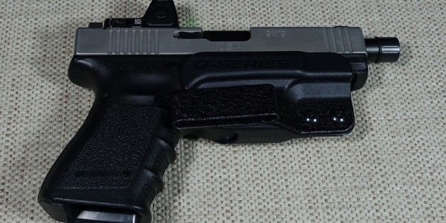 QSeries Stealth Generation 2 Glock Holster Review