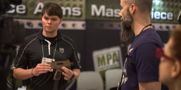 MasterPiece Arms DMG and MPAR At SHOT Show 2015