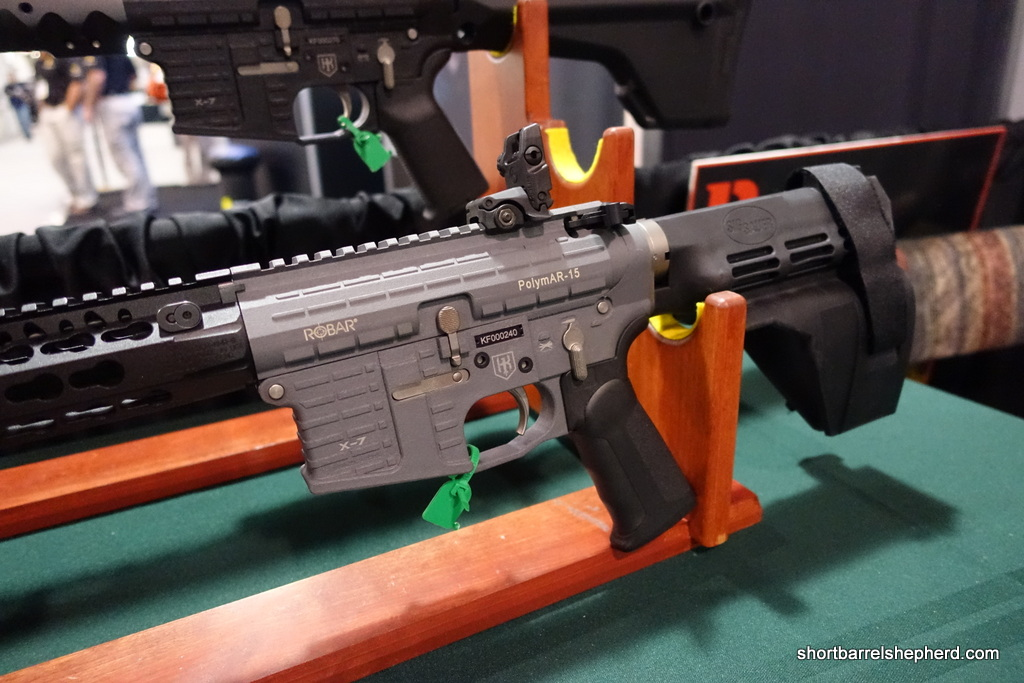 Robar Lightweight PolymAR-15 Interview at SHOT Show 2015