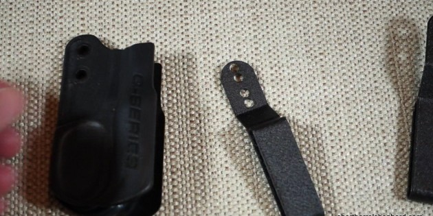 Q-Series LLC Adjustable Clip for the Stealth Minimalist Holster