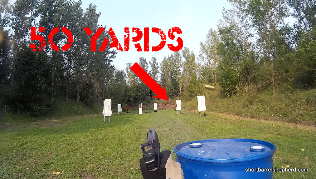 50 yard pistol shot