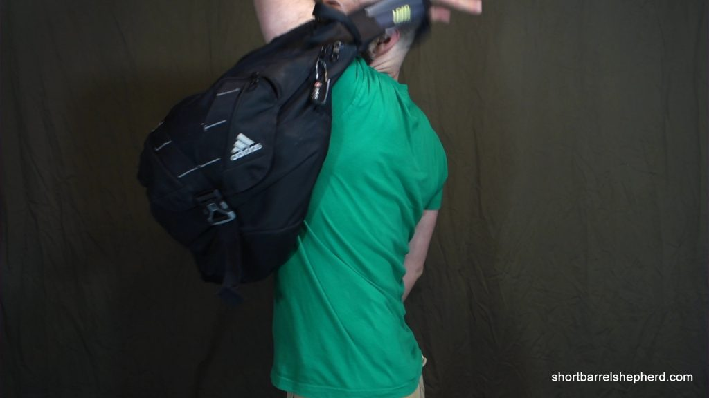 how to handle your bag in public - one handed mount-0