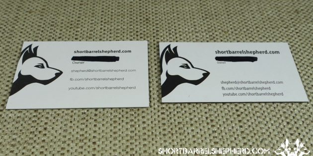 Moo Luxe vs GotPrint Trifecta Business Card Comparison Review