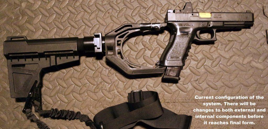 The Glock Pistol as C-PDW: An Example : Short Barrel Shepherd