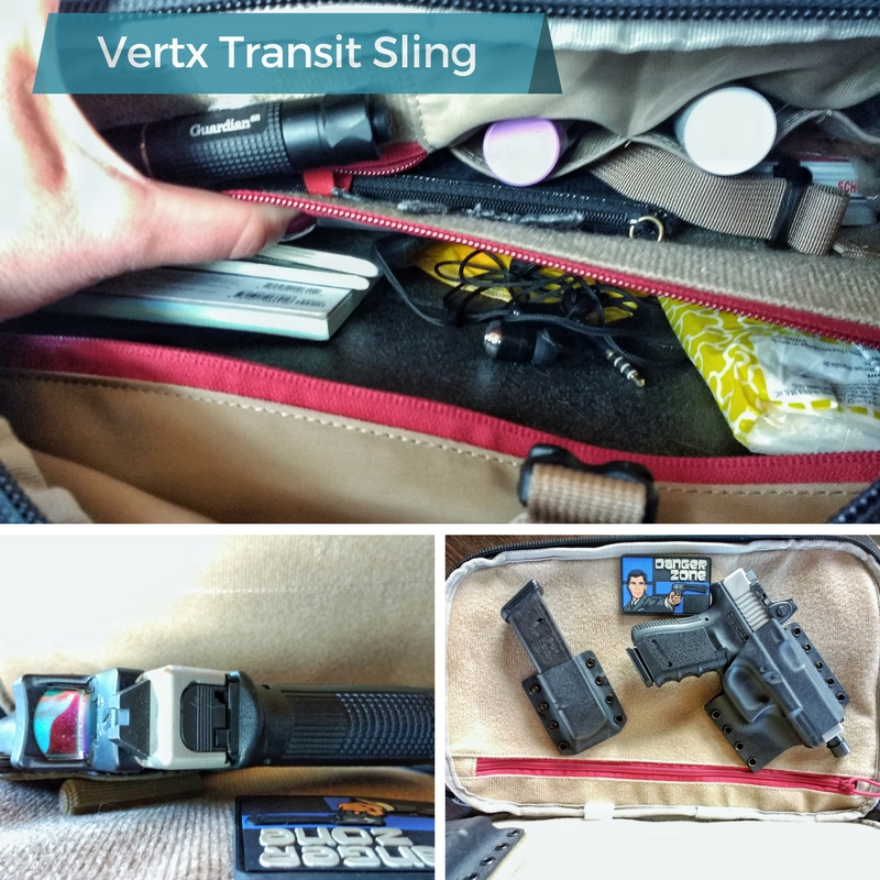 That's What She Said: Vertx EDC Transit Review : Short
