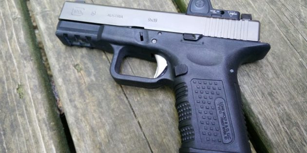 Timberwolf Aftermarket Glock 19 Frame After 2000 Rounds