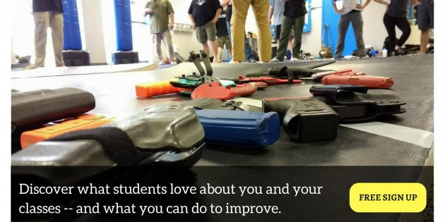 Announcing Instructor Feedback, a Free Way to Survey Students of Personal Safety Classes